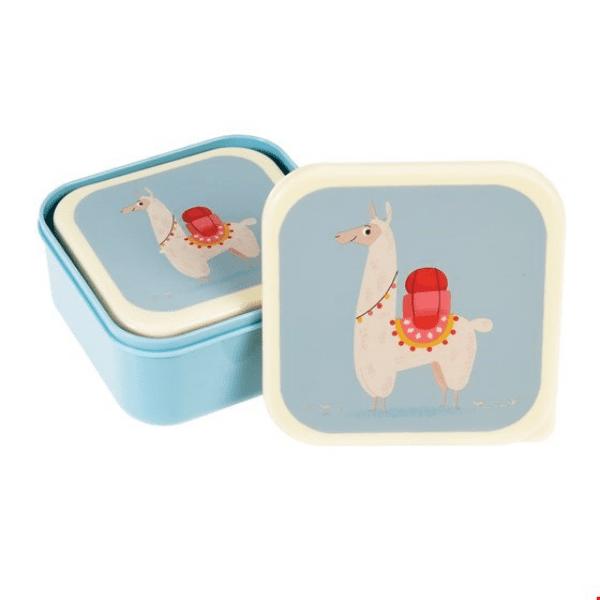 Llama lunch boxes