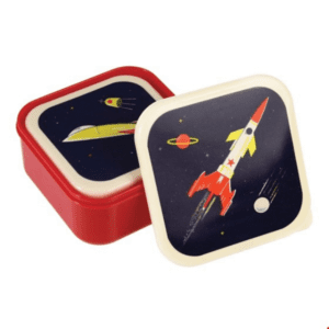Solar system space lunch boxes