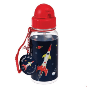 Space Solar system reusable water bottle