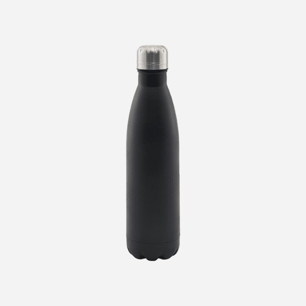 Dark grey Matt finish thermos water bottle