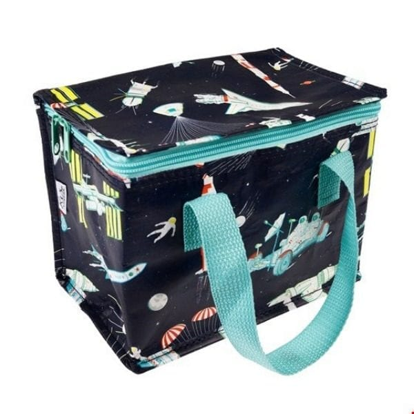 Solar System Space insulated lunch bag