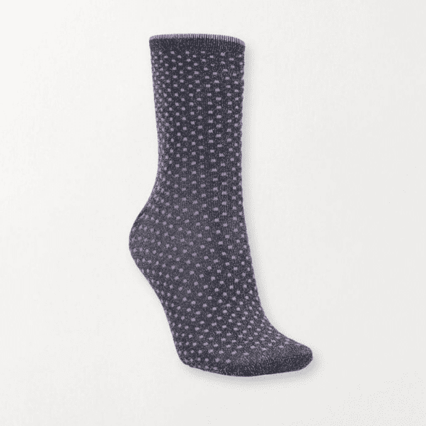 Beck Sondergaard Dina Dots Socks Purple