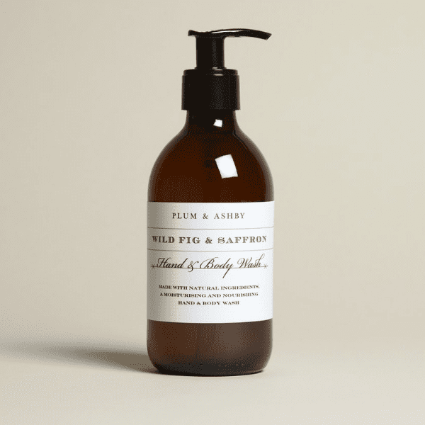 Plum & Ashby Wild Fig & Saffron Hand & Body Wash