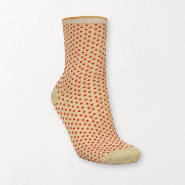 Beck Sondergaard Dina Dots Socks Red Love