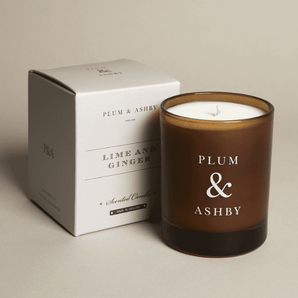 Lime & Ginger Scented Candle