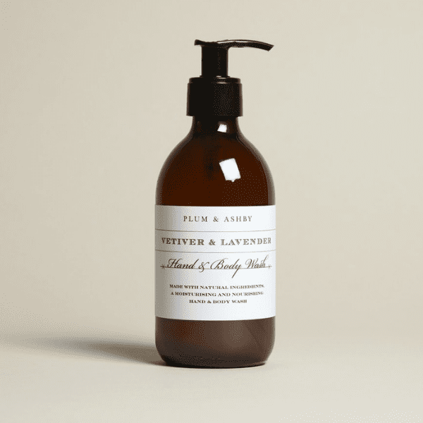 Plum & Ashby Vetiver & Lavender Hand & Body Wash