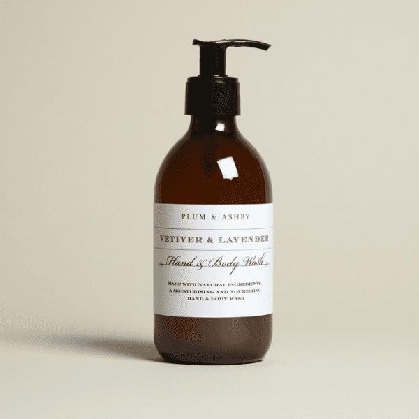 Plum & Ashby Vetiver & Lavender Hand & Body Wash