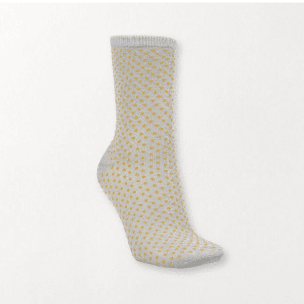 Beck Sondergaard Dina Dots Socks Honey Yellow