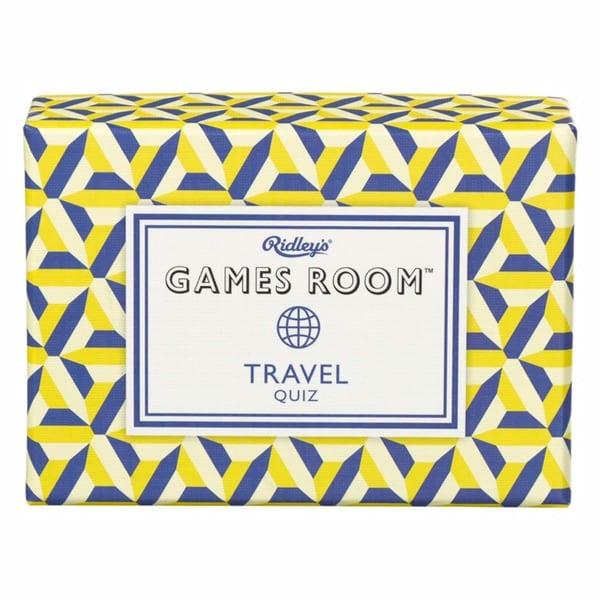 Travel Quiz Game Cards