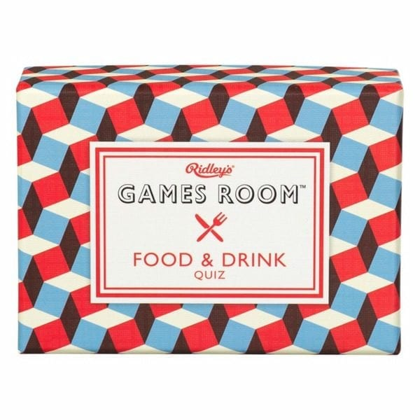 Food and Drink Quiz Card Game