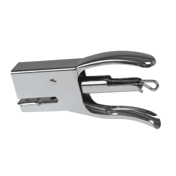 Silver Dog Stapler