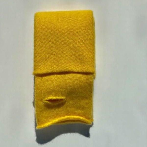 Moray Cashmere Lemon Wrist Warmers