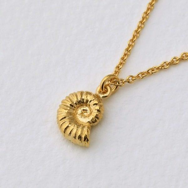 Alex Monroe Ammonite Necklace