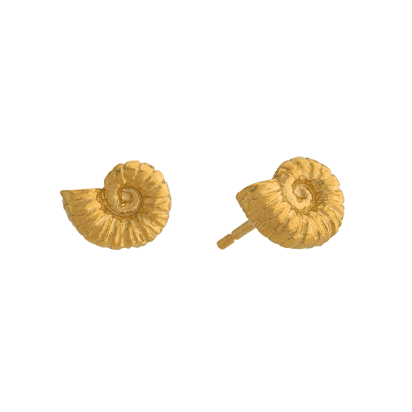 Alex Monroe Ammonite Earrings