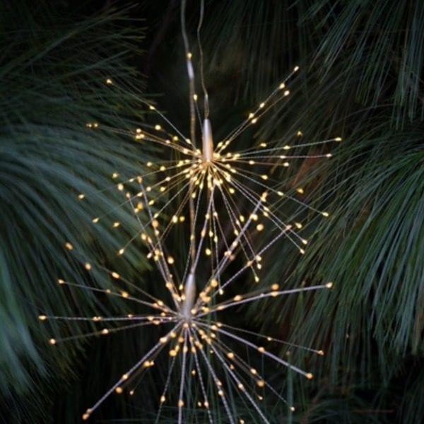 Hanging Starburst Light Decoration