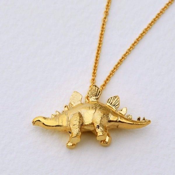 Alex Monroe Stegosaurus Necklace