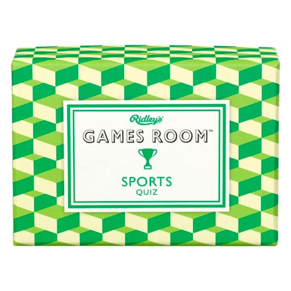 Sports Quiz Game Cards