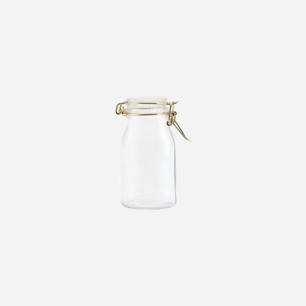Small Glass Storage Jar