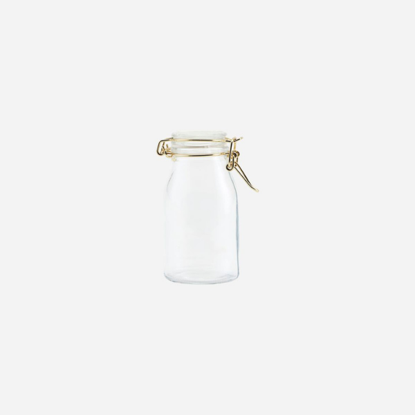 Small Glass Storage Jar