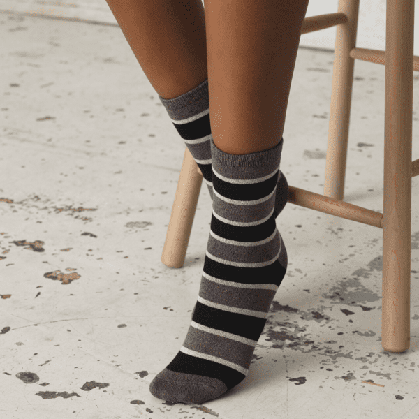 Beck Sondergaard Stripe lurex ankle socks