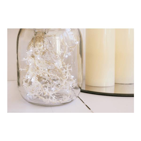 Fabric Snowflake Light decoration