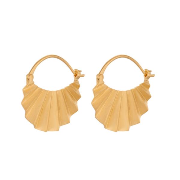 Pernille Corydon Brooklyn Earrings Gold Plate